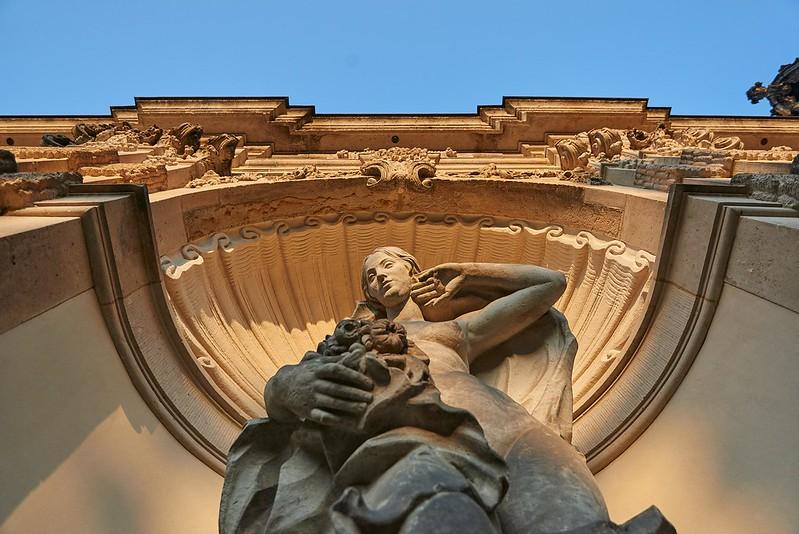 Nymph statue - Dresden