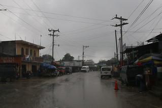 Guatemala and rain.