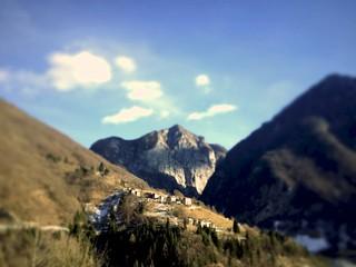 Mountain Top Tiltshift, Maniago, Italy, 2015
