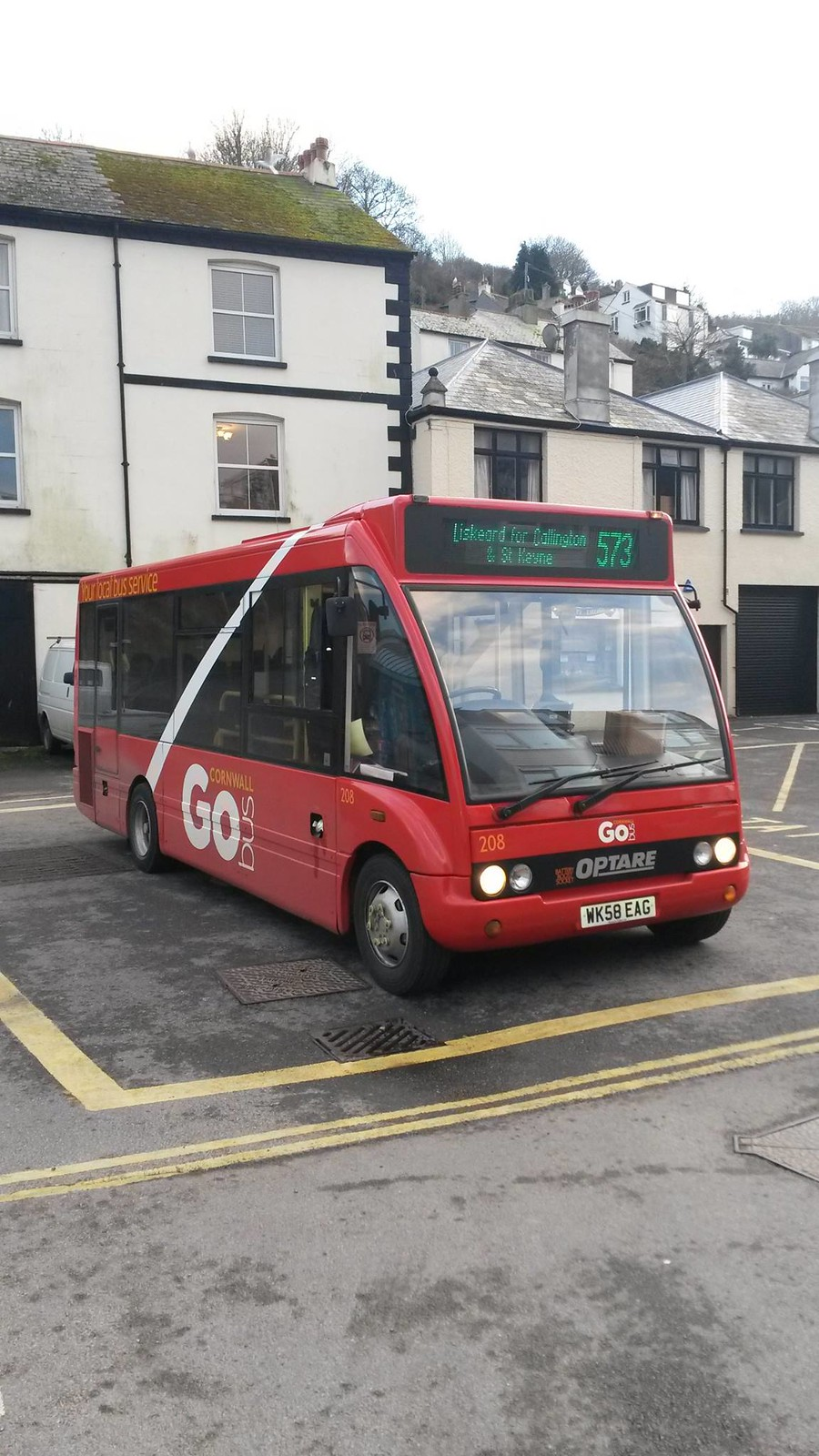 Plymouth Citybus 208