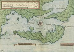 """British Library digitised image from page 1125 of """"Historia del descubrimiento de las regiones austriales ... publicada por ... J. Zaragoza"""""""