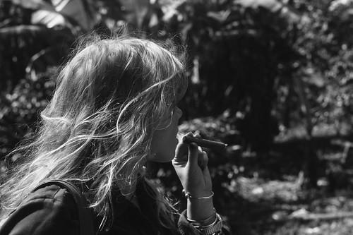 Enia's first cigar