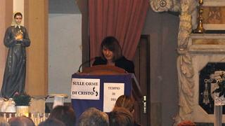 La presidente dell'Associaizone, Angela Cicerone
