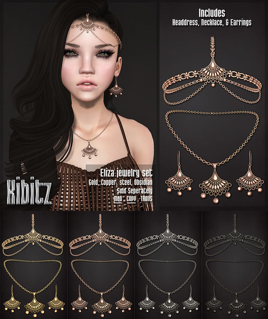 Kibitz Eliza jewelry set