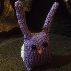 Bunny nugget. #knit #amigurumi #bunny #easteriscoming
