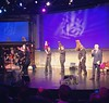 """The """"Puppet Up"""" puppeteers take a bow! (Awesome improv show produced by Brian Henson.) #muppetfan"""