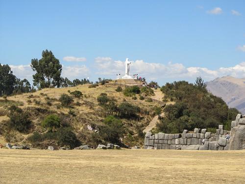 Sacsayhuaman: el Cristo Blanco