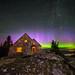 Mount Spokane Aurora by CraigGoodwin2