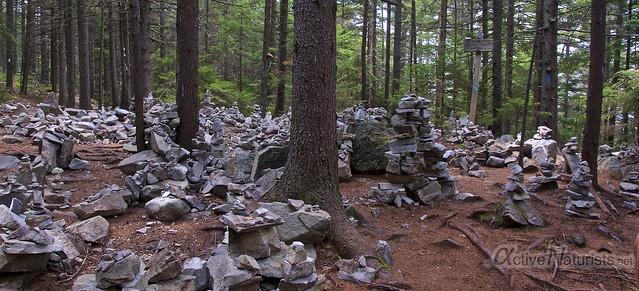 view 0000 Appalachian trail, Vermont, USA
