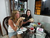 Arrival Volunteers Tessa Duff and Elizabeth Halley in Colombia Cartagena at the Children Care program