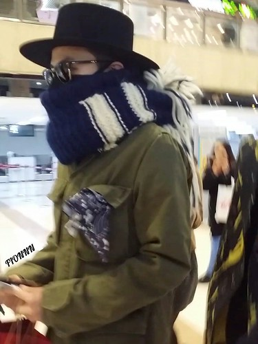 Big Bang - Gimpo Airport - 27feb2015 - G-Dragon - Fionnn_权小柒 - 02