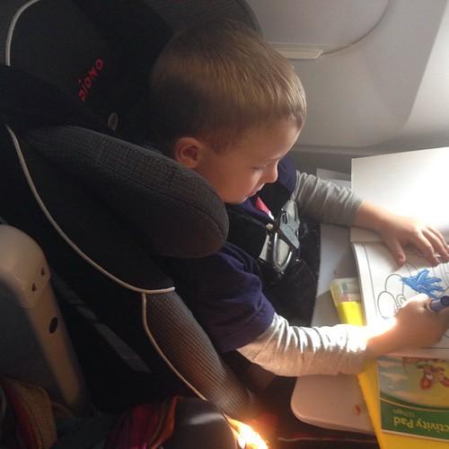 Airplane artist.