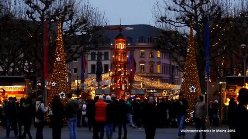 Weihnachtsmarkt #Mainz 2014
