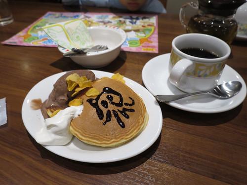 デニーズのパンケーキ食べ放題 2014/12/13