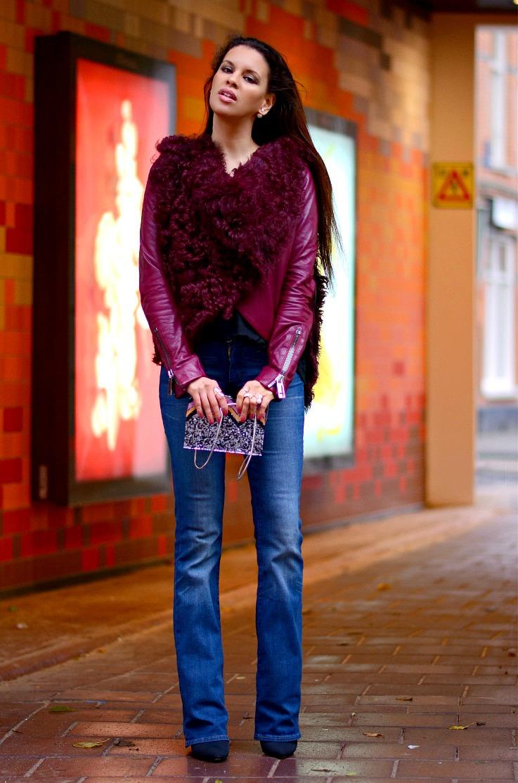 DSC_8863 Tony Cohen Jacket, Flared jeans, Bootcut Levi's, Tamara Chloé 2