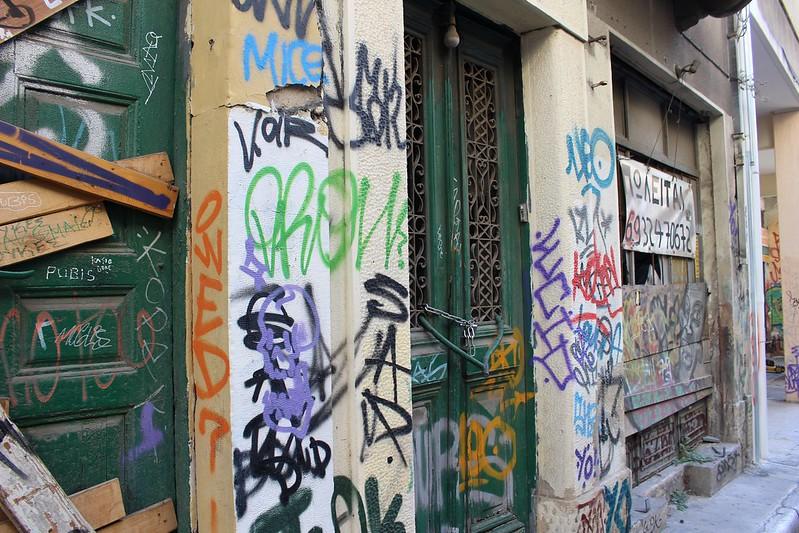 Athens backstreets