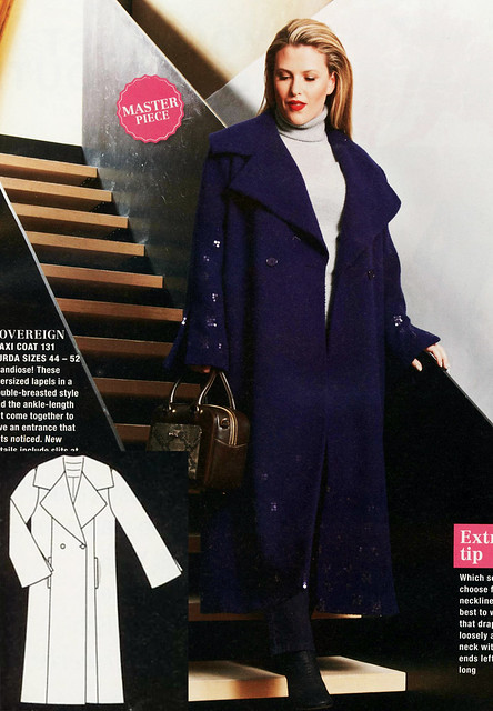 Burda-2015-January_Plus Size Long Coat
