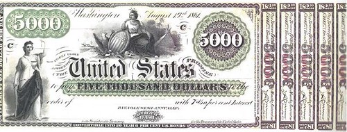5000 dollar interest-bearing note