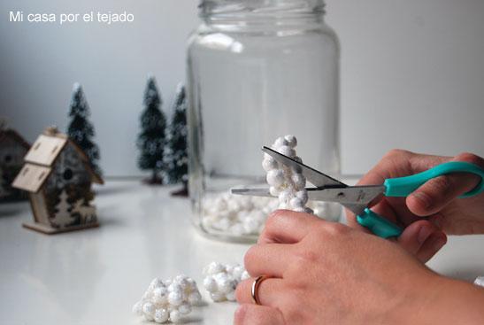 Micro-navidad en un tarro
