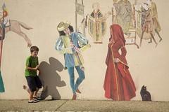 El flautista, la dama y el ratoncito - Photo of Saint-Secondin