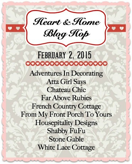 Heart and Home Blog Hop
