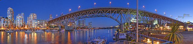 Granville Street Bridge - Blue Hour