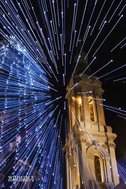 Zooming de Navidad en la Plaza del Pilar