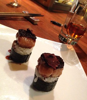 Foie sushi