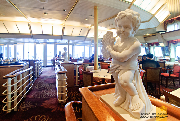 Dynasty Restaurant at the Star Cruises Superstar Aquarius