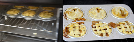 how to make mini apple pie