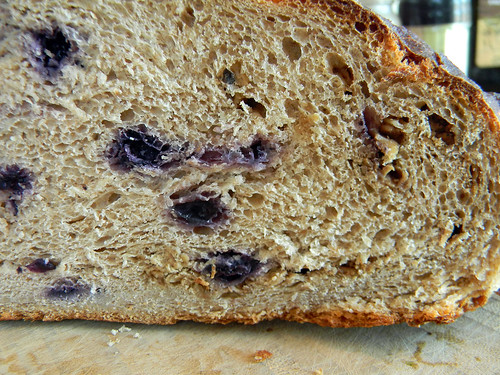 Blueberry Crunch Bread