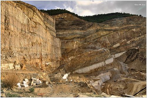 españa landscapes spain sierra montaña almería cantera mármol macael nikond5100