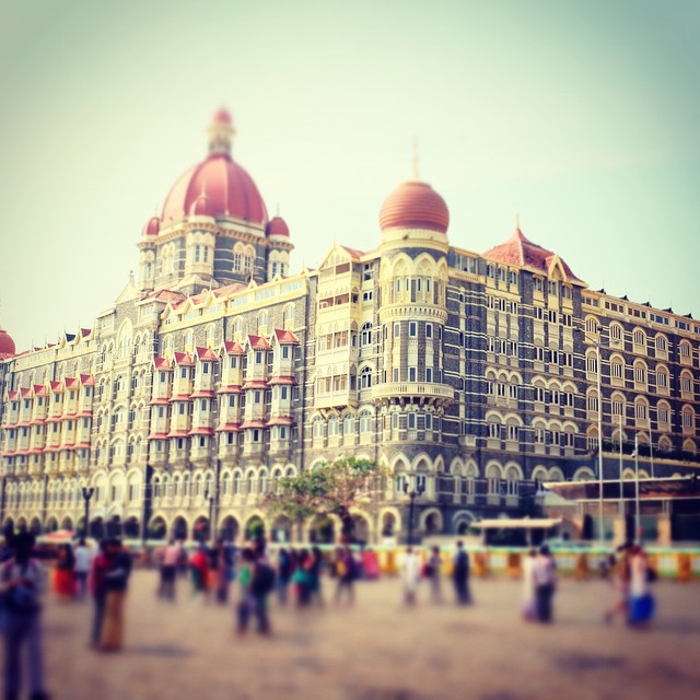 The Taj in Mumbai.