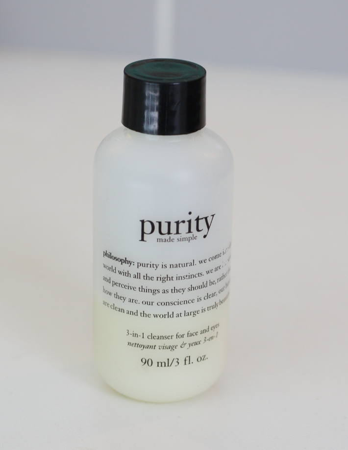 Philosophy purity made simple cleanser review