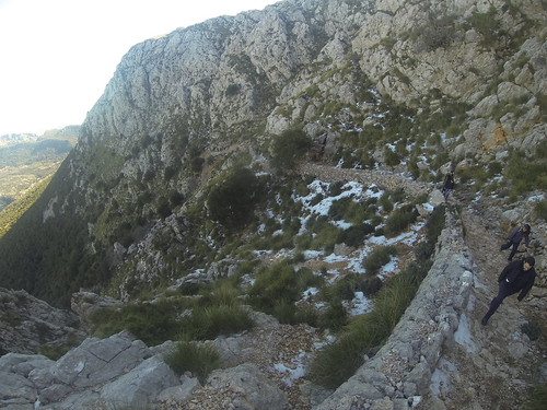 Fotos de la excursión  al puig de Galileu en Mallorca