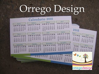 Tarjeta Visita con Calendario