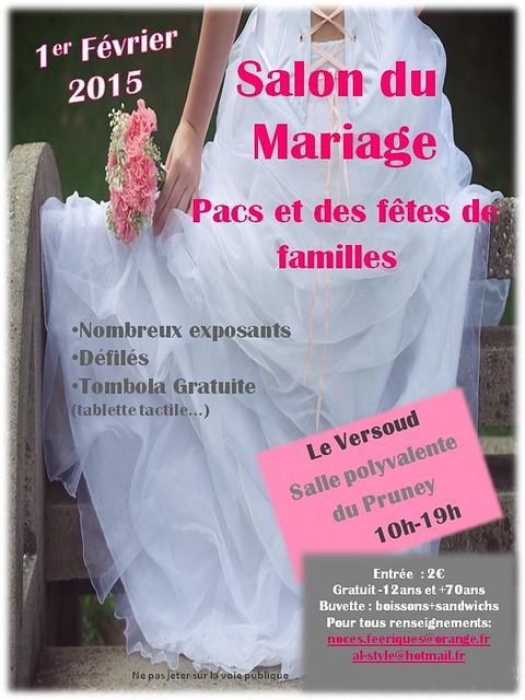 affiche salon du mariage 2015
