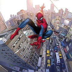 #SpiderMan by Olivier Coipel. #Comics