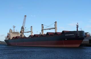 Bulk Carrier: NORDIC BARENTS (IMO 9079169 1995 27078gt) Port of Sunderland