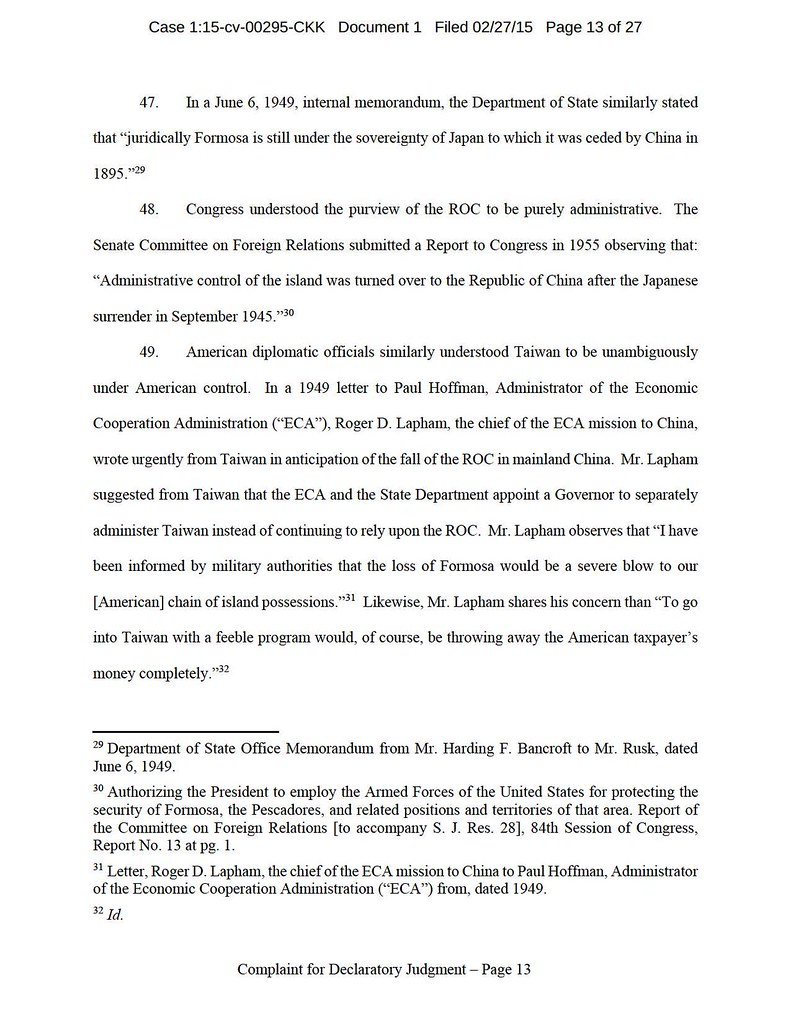 Lin v US and ROC File Stamped Complaint_頁面_13