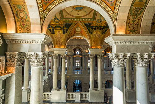 The Library of Congress Foyer (Explored) by Geoff Livingston