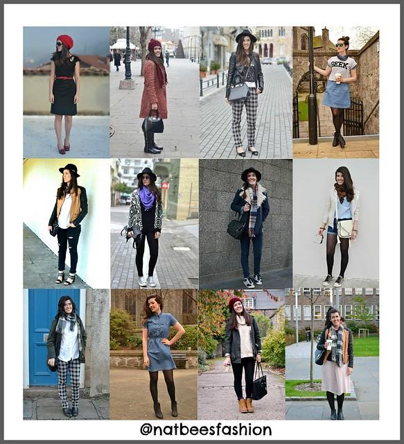 2014 outfit recap