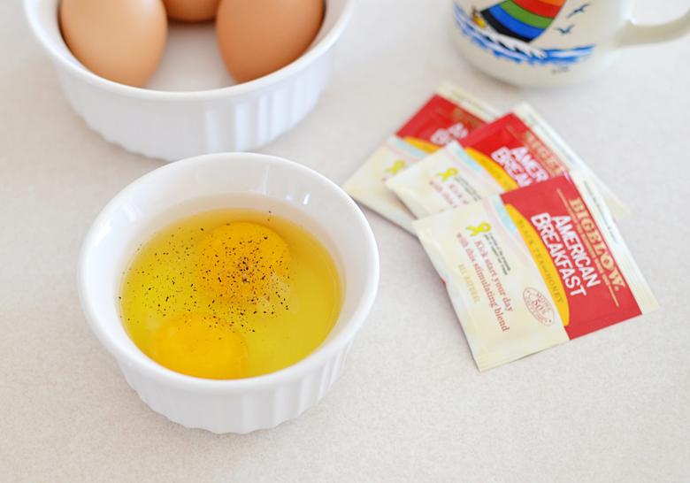 fluffy scrambled eggs #AmericasTea #ad