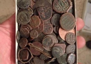 ISRAEL RECOVERS 800 STOLEN ANCIENT COINS