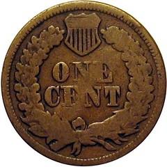 J. WENZEL Counterstamp on 1863 Cent reverse