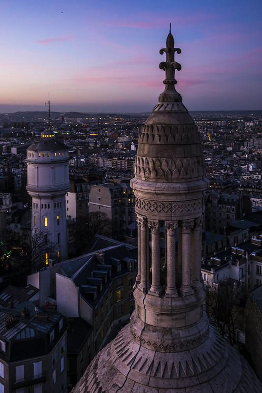 Sacré-Coeur's dome, Paris