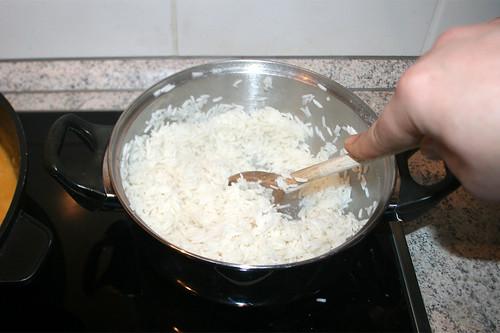 46 - Butter im Reis schmelzen lassen / Melt butter in rice