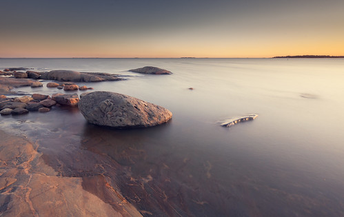ocean sunset water rock suomi finland landscape island helsinki long exposure isle waterscape uunisaari saari 1635l4