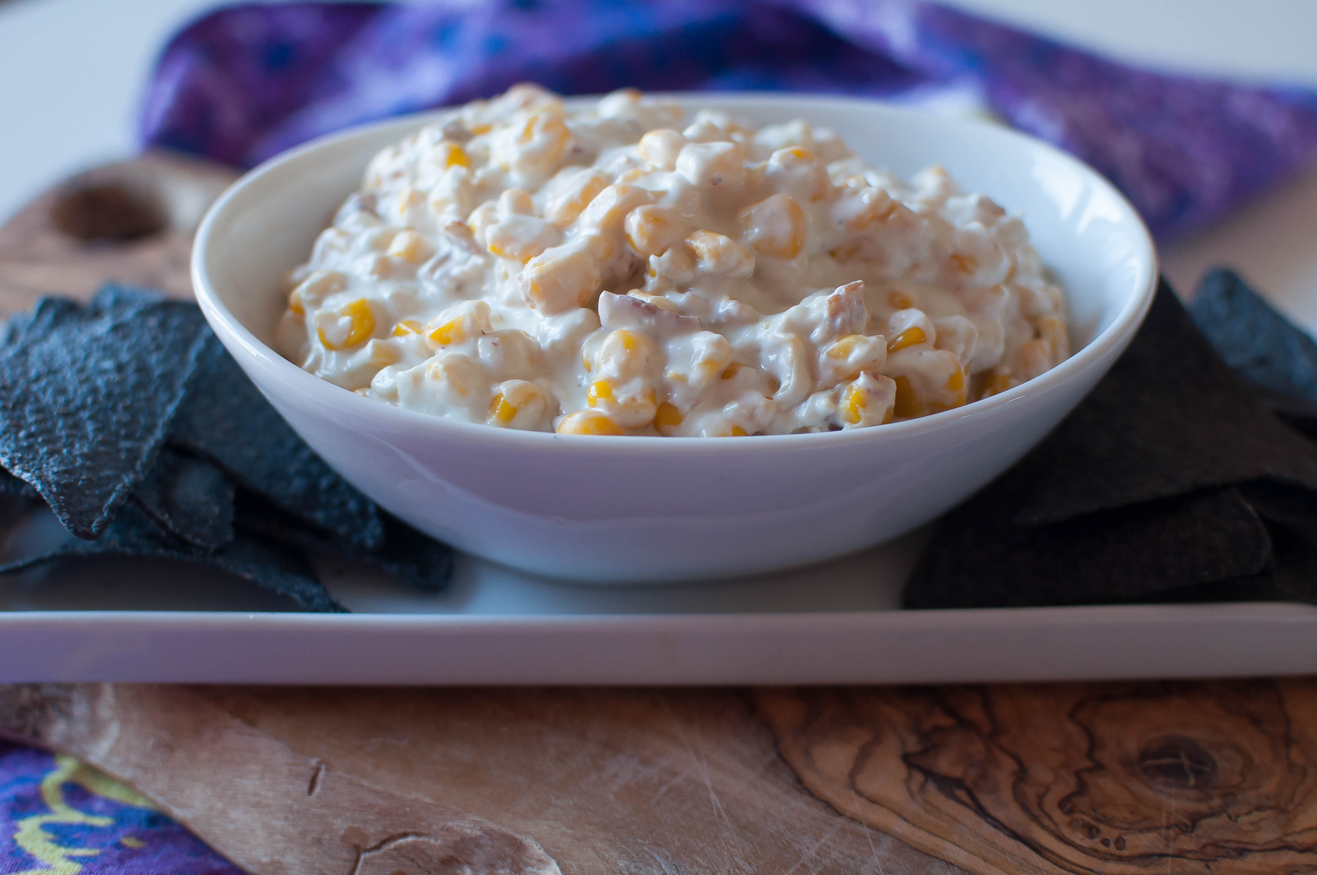 Bacon and Bleu Hot Corn Dip 3
