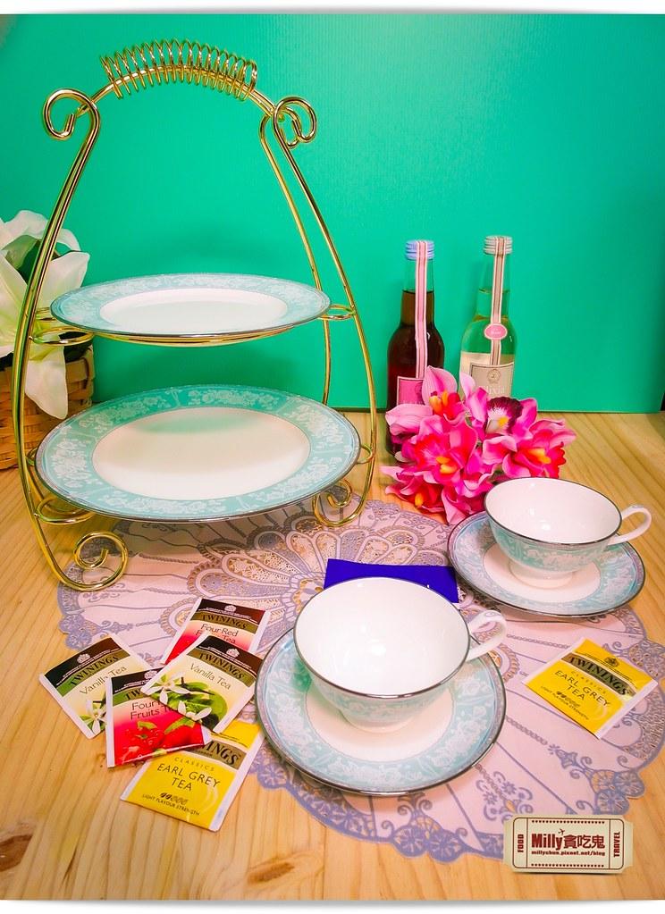 日本NARUMI鳴海骨瓷午茶杯盤組0001